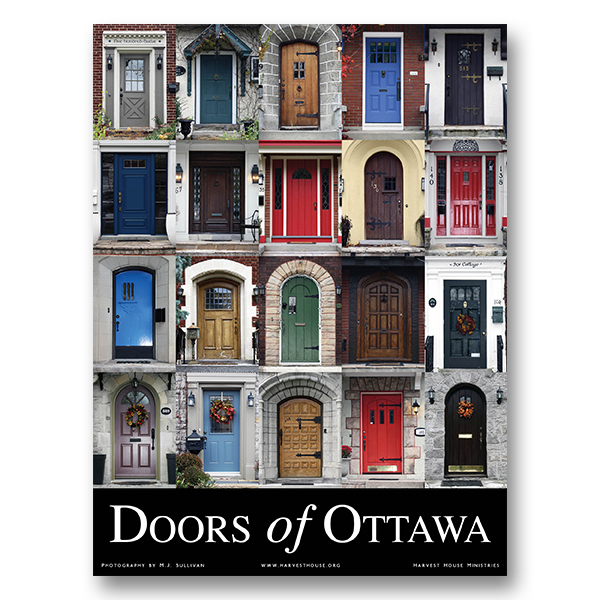 Doors of ottawa poster harvest house ministries for Exterior doors ottawa